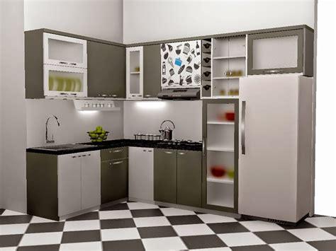 Sho Metal Ukuran Kecil gambar kitchen set minimalis terbaru 2018 ukuran kecil