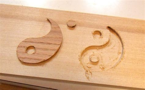 inlay template inlay carving with the router pantograph