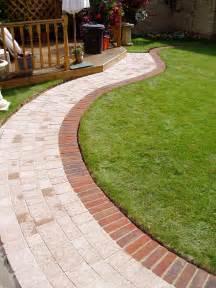 brick garden border edging