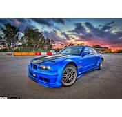 Ter Tech's BMW 3 Series Drift Car At PBIR During Sunset