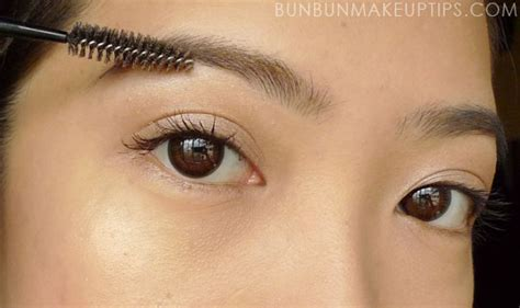 how to color in your eyebrows how to lighten your brows with kate eyebrow color mascara