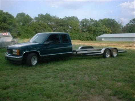 gmc cer trailer 98 gmc custom car hauler car trailers rigs classifieds