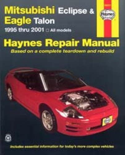 car repair manuals download 1999 mitsubishi eclipse windshield wipe control haynes mitsubishi eclipse eagle talon 1995 2005 auto repair manual