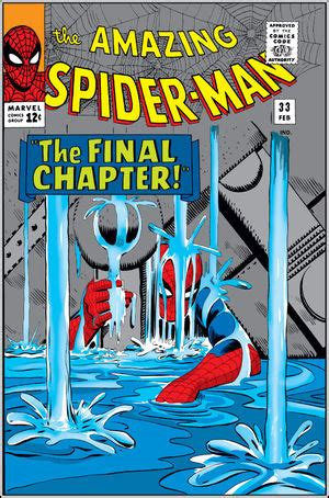 amazing spider man vol 1 33 | marvel database | fandom