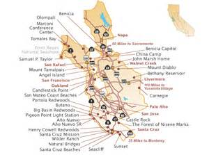 California State Park Map by Pin State Parks Northern California Map On Pinterest