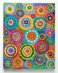 abstract paintings with circles abstract painting circles original acrylic abstract