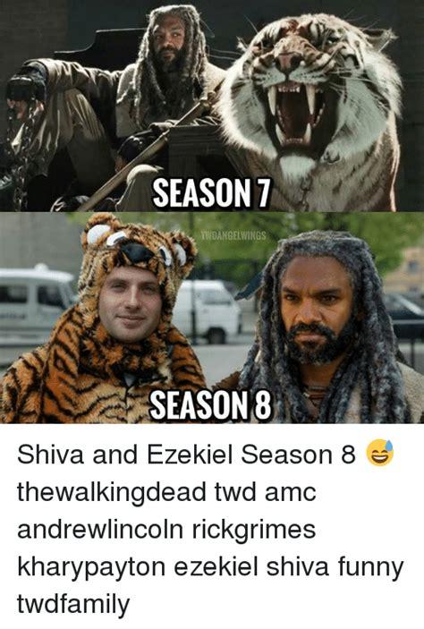 Shiva Meme - an season t tvndangelwings season 8 shiva and ezekiel