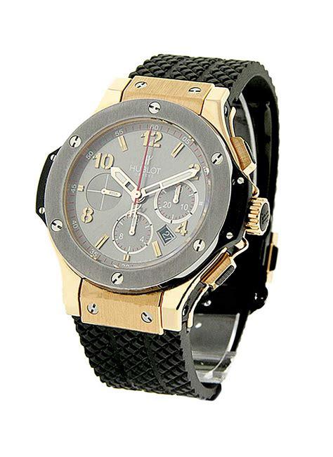 Hublot Big Blue Rosegold Rubber 1 301 pt 401 rx hublot big 44mm gold limited edition essential watches