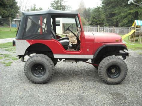 1970 jeep comanche find used 1970 jeep cj5 kaiser 35 quot tires twin stick
