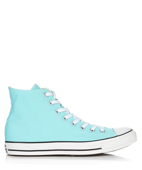 light blue high tops discount chuck light blue canvas hi tops secretsales