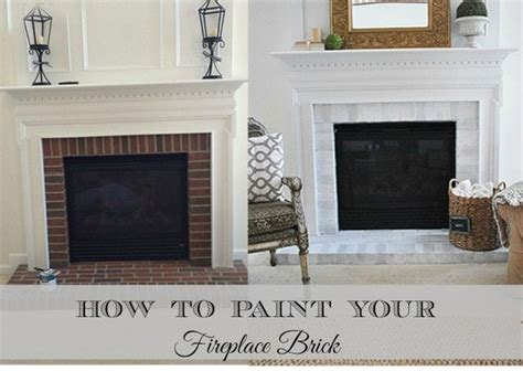 how to paint your brick fireplace surround paint brick fireplaces brick fireplace and