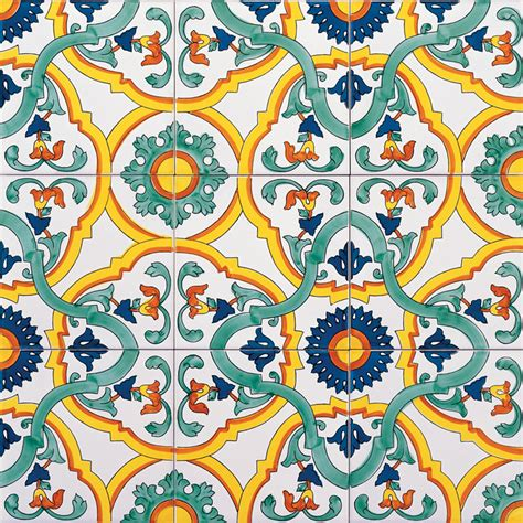 Piastrelle Deruta - ceramica artistica vietrese de maio dalla