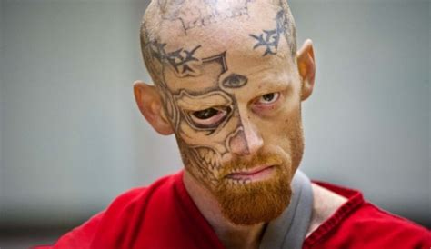 eyeball tattoo anchorage scary looking criminal with tattooed eyeball gets 22 years