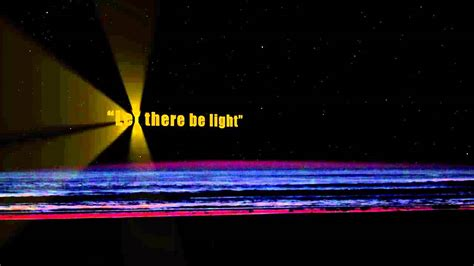 let there be light the movie com let there be light the real big bang youtube