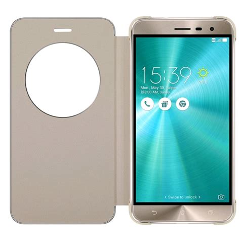 My User Flip Cover Asus Zenfone Go B 5 Inch New 4g Zb500kl Coklat asus view flip cover for asus zenfone 3 5 5 quot ze552kl gold prices features expansys