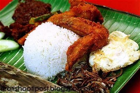 makanan tradisional melayu nasi lemak
