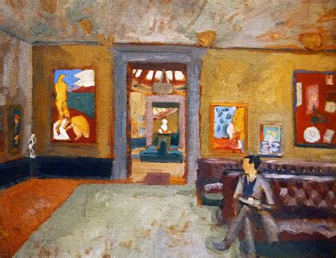 matisse room at the second post impressionist exhibition the grafton galleries 16th november 1912