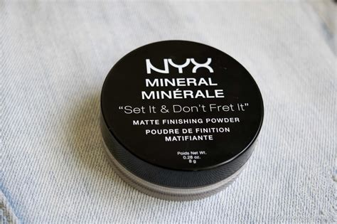 Nyx Mineral Matte Finishing Powder nyx mineral matte finishing powder mfp 01 light medium