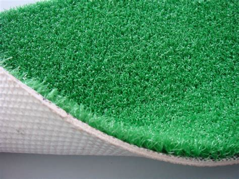Lawn Mat by China White Rubber Backing Indoor Golf Mat