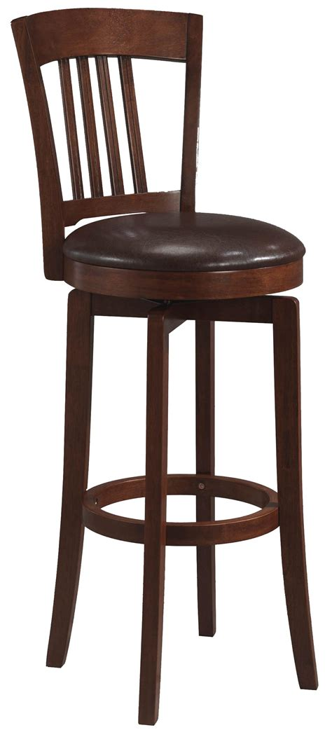 Kathy Ireland Bedroom Furniture Collection hillsdale plainview canton swivel bar stool in brown set