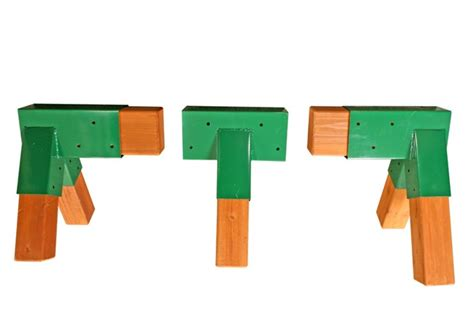 a frame brackets for swing sets eastern jungle gym 123 a frame bracket kit