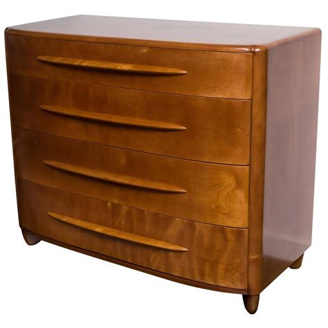 Wakefield Dresser by Heywood Wakefield Four Drawer Low Dresser At 1stdibs