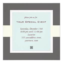 clean and simple business event invitation 5 25 quot square invitation card zazzle