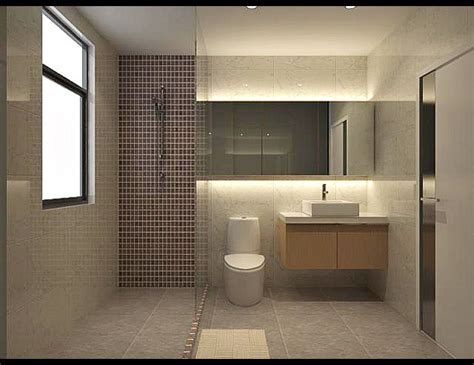 modern small bathroom small box