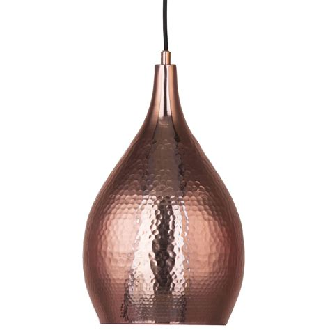 New In Dazzling Copper Lights Litecraft Hammered Copper Light Pendant