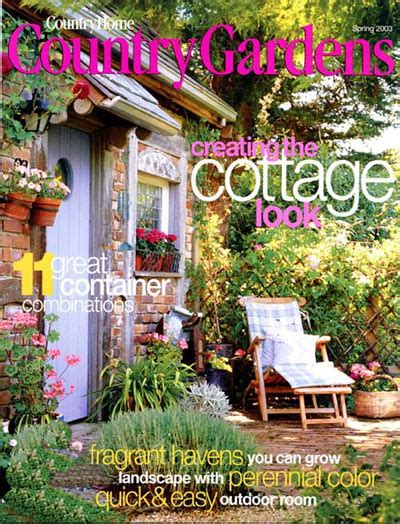 backyard living magazine website country gardens magazine subscriptions renewals gifts