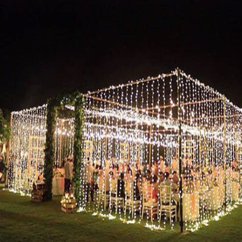 led curtain wall of wedding lights for event lighting