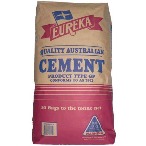 eureka gp cement 20kg bag