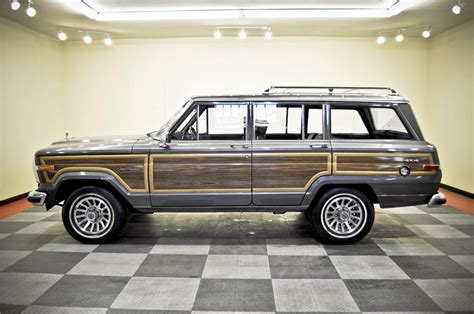 1989 jeep wagoneer interior 1989 jeep grand wagoneer suv 170235