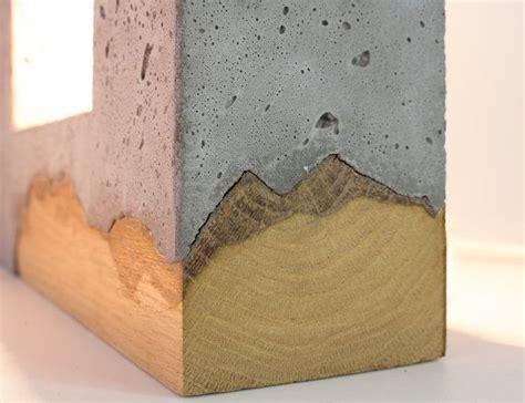 light concrete table best 25 concrete wood ideas on concrete