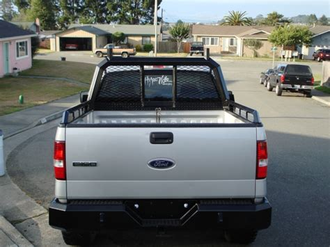 Ford Headache Rack by Got Bumper And Headache Rack Done Ford F150 Forum