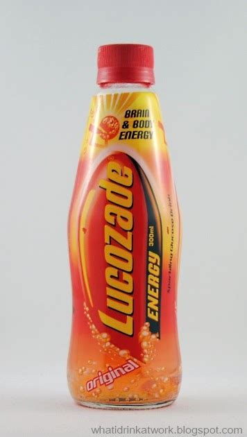 energy drink reviews what i drink at work lucozade energy drink review