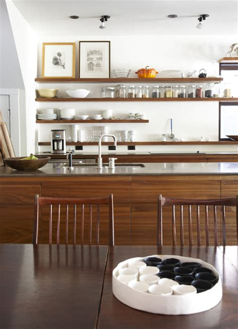 kitchen cabinets and open shelving refresheddesigns trend to try open shelving in the kitchen