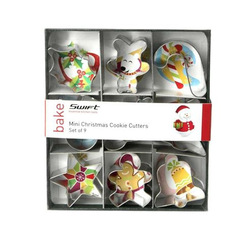 Mini Cookie Cutter Set mini cookie cutters set of 9 squires kitchen