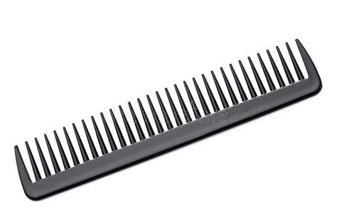 black hair comb stock image image  fashion brush