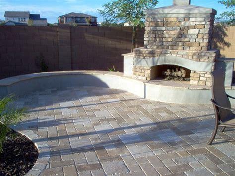 Travertine Backyard by Travertine Pavers E L M Landscaping Design Inc
