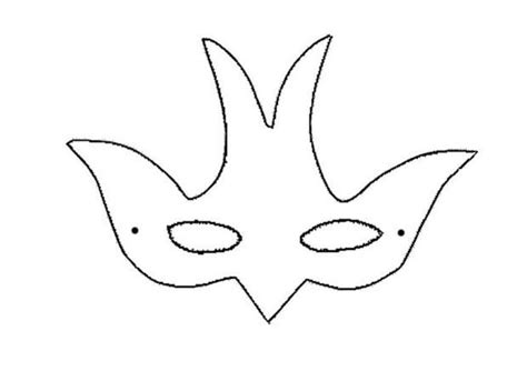goose mask template animal masks for bird mask things i