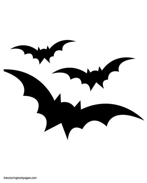 pumpkin stencils free printable three bats flying bat