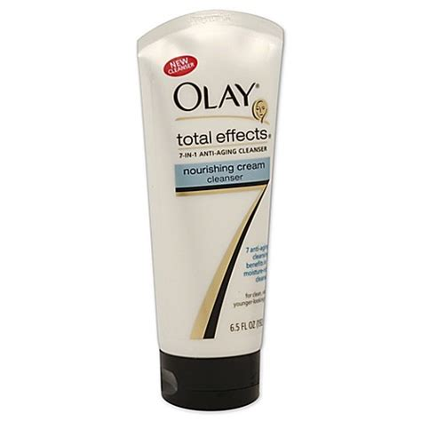 Olay Total Effects Cleanser buy olay 174 total effects 6 5 oz 7 in one nourishing cleanser from bed bath beyond