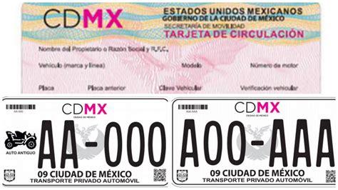 tarjeta circulacin nueva la economia dan a conocer las nuevas placas y tarjeta de circulaci 243 n