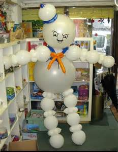 ghostbusters balloon decoration boyish