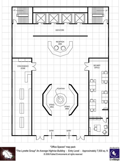 rpg floor plans modern floorplans high rise building fabled