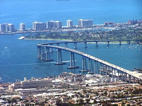 san diego car crash along coronado bridge auto accident