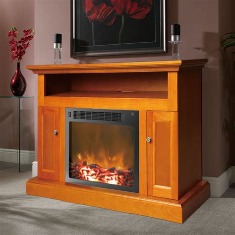 Mantel For Fireplace Insert Sorrento Fireplace Mantel With Electronic Fireplace Insert