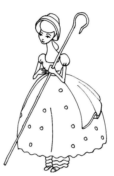little bo peep coloring pages meet bo peep in toy story