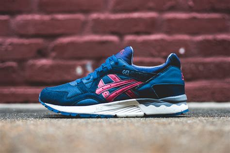 Asics Gel Lyte V Burgundy Sole Gum asics vegan kicks